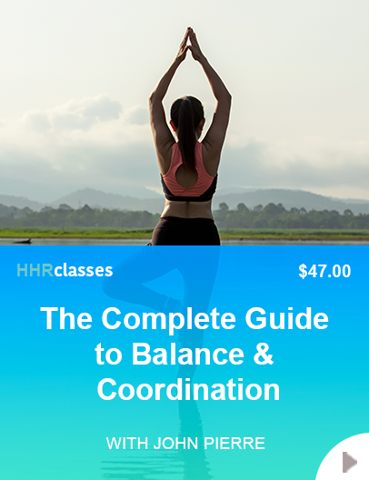 Learn to improve your balance class with John Pierre